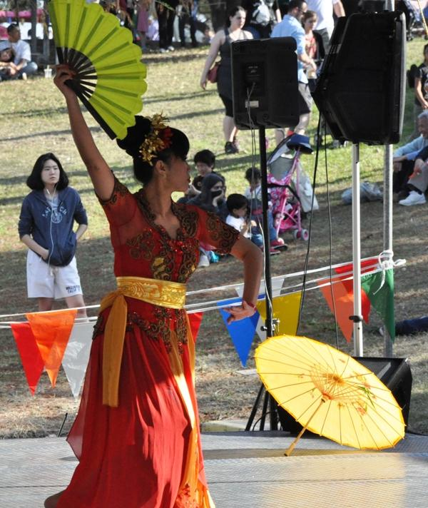 Dancer at Asian Festival