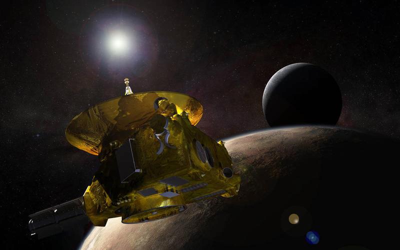 Artist intepretation of New Horizons Probe