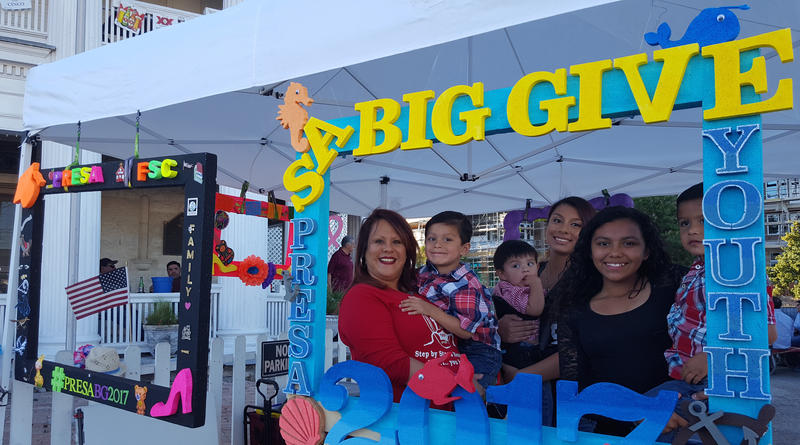 Supporters of the Presa Community Center celebrate The Big Give on May 2017