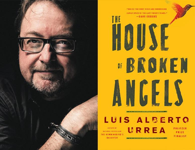 "Author Luis Alberto Urrea discusses his new book, ""The House of Broken Angels."""
