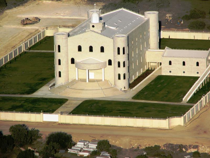 Temple of the FLDS in El Dorado, Texas.