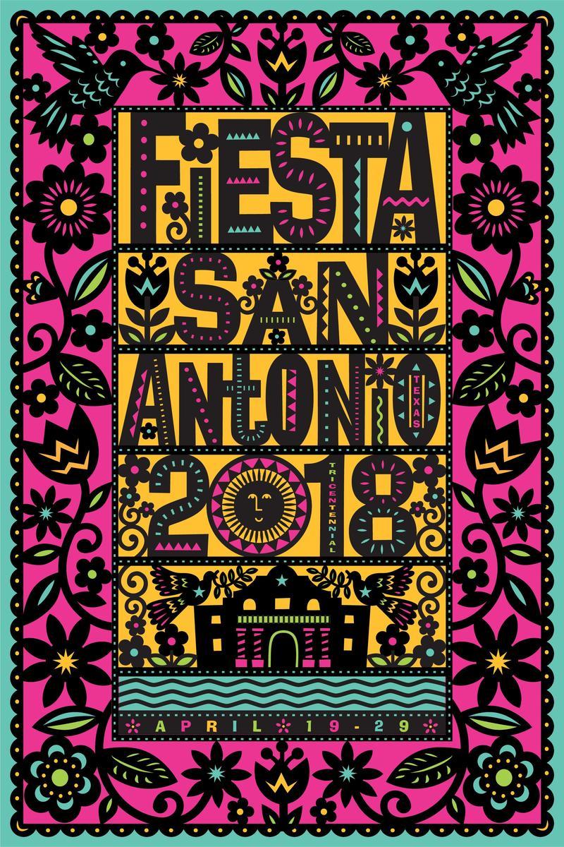 Official Fiesta 2018 poster