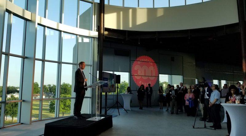 Jim Perschbach Speaks at opening of Project Tech Building One opening