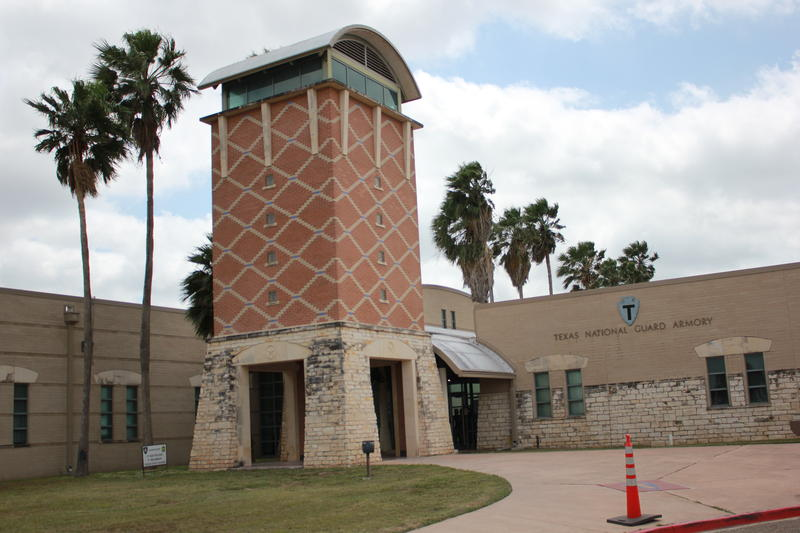 The Texas National Guard Armory in Weslaco.