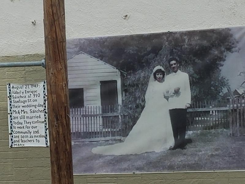 Fotohistoria of tour guide Javier Sanchez's parents