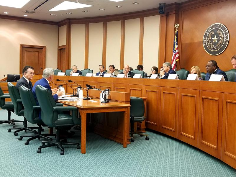 Texas Senate select-Committee on Violence in Schools and School Safety