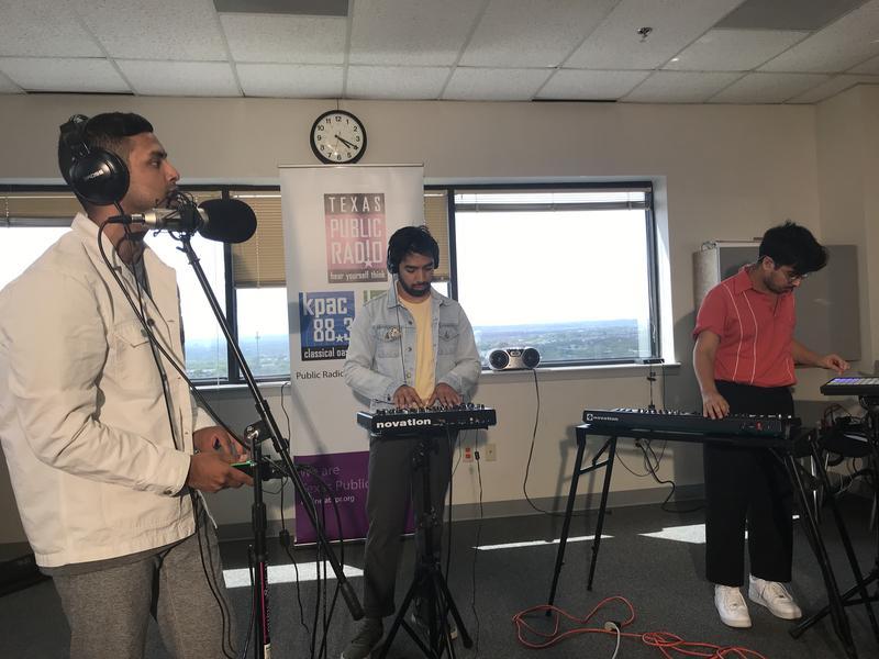 Thomie Lazcano, Aldo Lazcano, and Dany Escobar