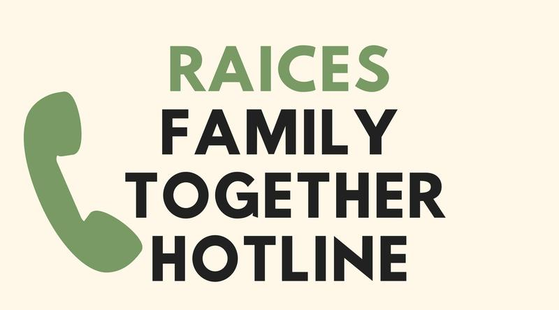 RACIES launched its hotline Thursday