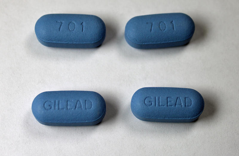 The anti-retroviral drug Truvada, which is a combination of tenofovir and emtricitabine.