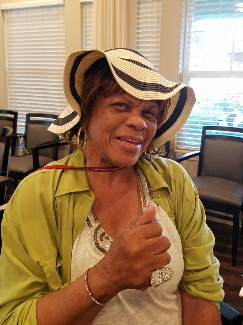 Eastside resident Erma Harris Tate