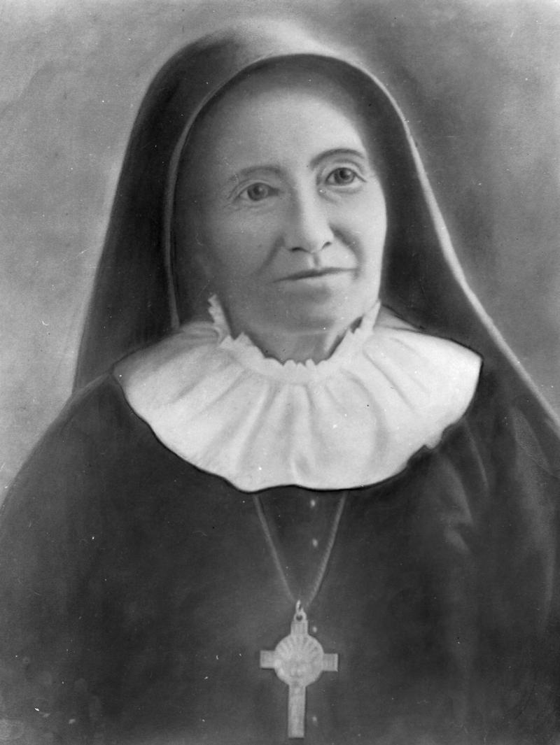 Mother Margaret Mary Healy Murphy. She built the first Catholic church and school for African Americans in San Antonio in 1888, and created a new order of sisters, the Sisters of the Holy Spirit and Mary Immaculate