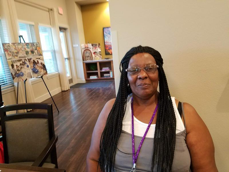 Eastside resident Pamela Bishop