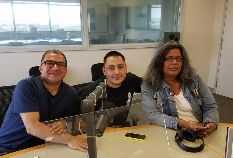 Sebastián Guajardo, Jose Villalobos, Antonia Padilla