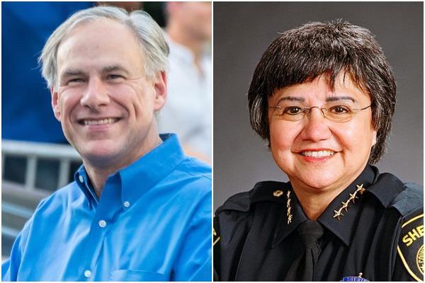 Gov. Greg Abbott, left, has agreed to debate Democratic gubernatorial candidate Lupe Valdez in September.