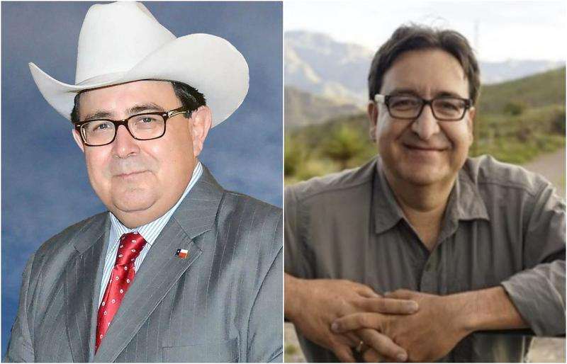 Republican Pete Flores, left, and Democrat Pete Gallegos are vying for the Texas Senate Distrct 19 seat vacated by Carlos Uresti. Early voting begins Monday.