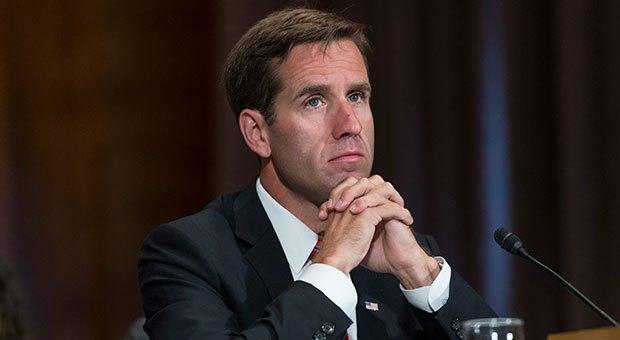 Beau Biden, son of former Vice President Joe Biden and his wife Jill. Beau Biden died as a result of glioblastoma in 2015.