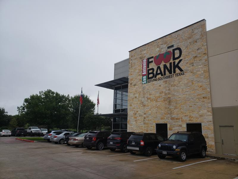 San Antonio Food Bank exterior in September 2018