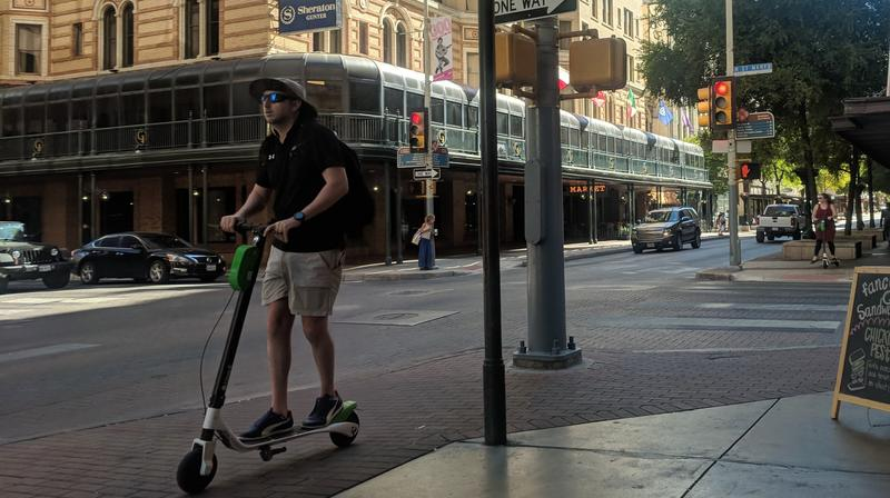 E-scooters are growing in popularity in San Antonio, and some believe this new mode of transportation holds the key to improved bikes lanes in the city.