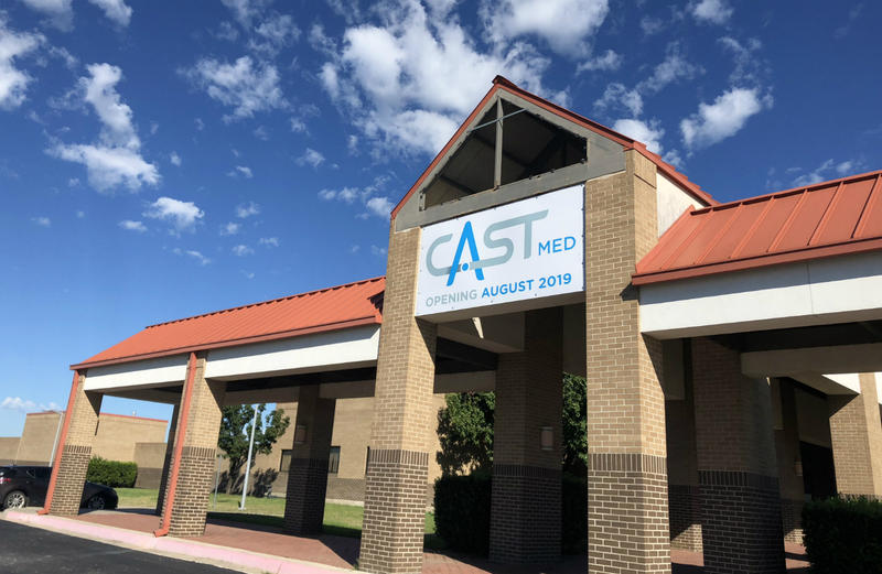 CAST Med High School will open in the 2019-2020 school year in a former Texa A&M San Antonio building at Brooks City Base.