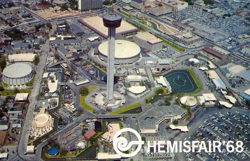 HemisFair '68 was held April 6 to Oct. 6, 1968. The theme of the fair was the confluence of civilization in the Americas.