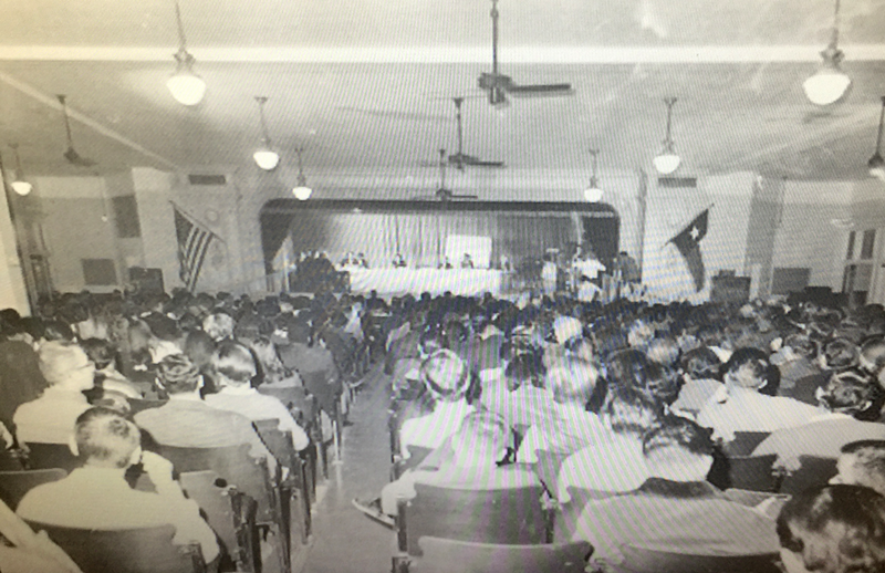 The 1968 U.S. Commission on Civil Rights hearings held at San Antonio's Our Lady of the Lake University