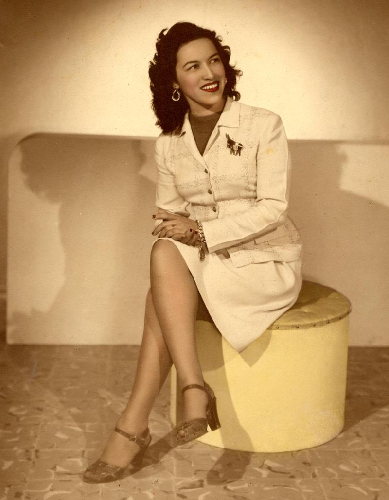 Rita Vidaurri, San Antonio native and singer, was one of the multiple artists who performed at the Alameda Theater.