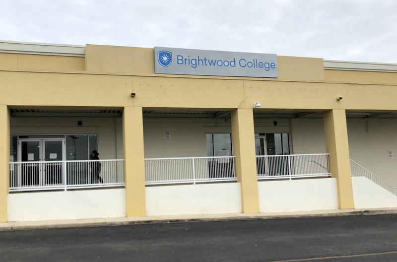 The San Pedro campus of Brightwood College San Antonio locked its doors on Dec. 5, 2018, the day its parent company announced it was closing.