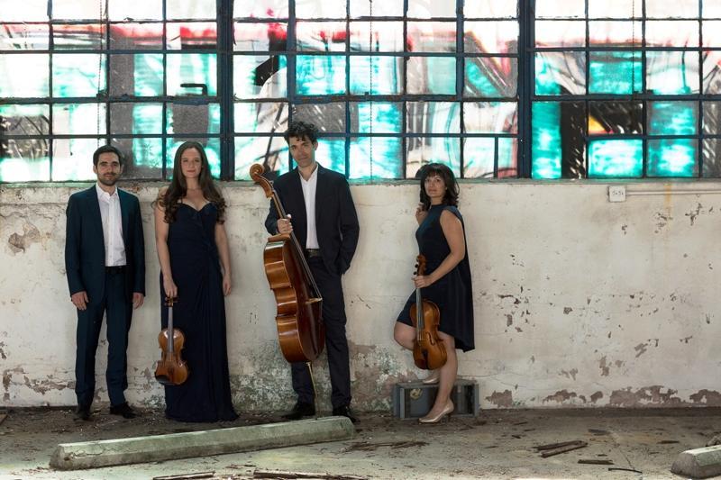 Daniel Anastacio, from left, Sarah Silver Manzke, Ignacio Gallego and Marisa Bushman