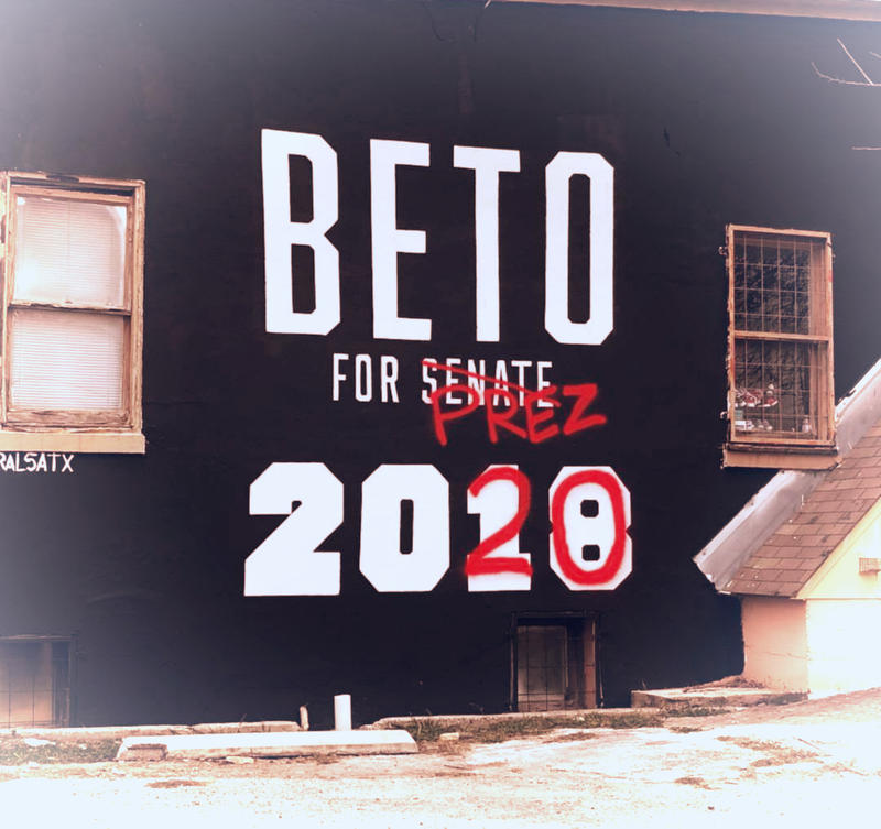 Rep. Beto O'Rourke, D-Texas, captured the imagination of not just Texas, but the nation during his Senate run. A mural was redesigned in San Antonio's Southtown shortly after his loss to Ted Cruz.