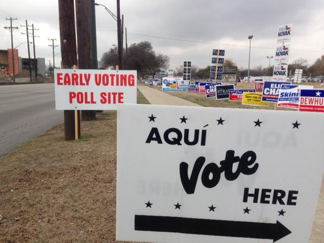 The last day to vote in the March primary is Tuesday, March 4.