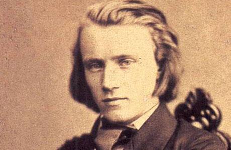 Johannes Brahms, in 1853