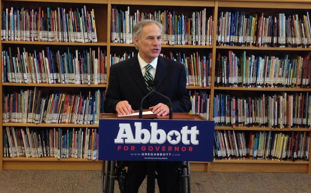 Greg Abbott Visits Sa To Discuss Pre K Plan Stands Behind