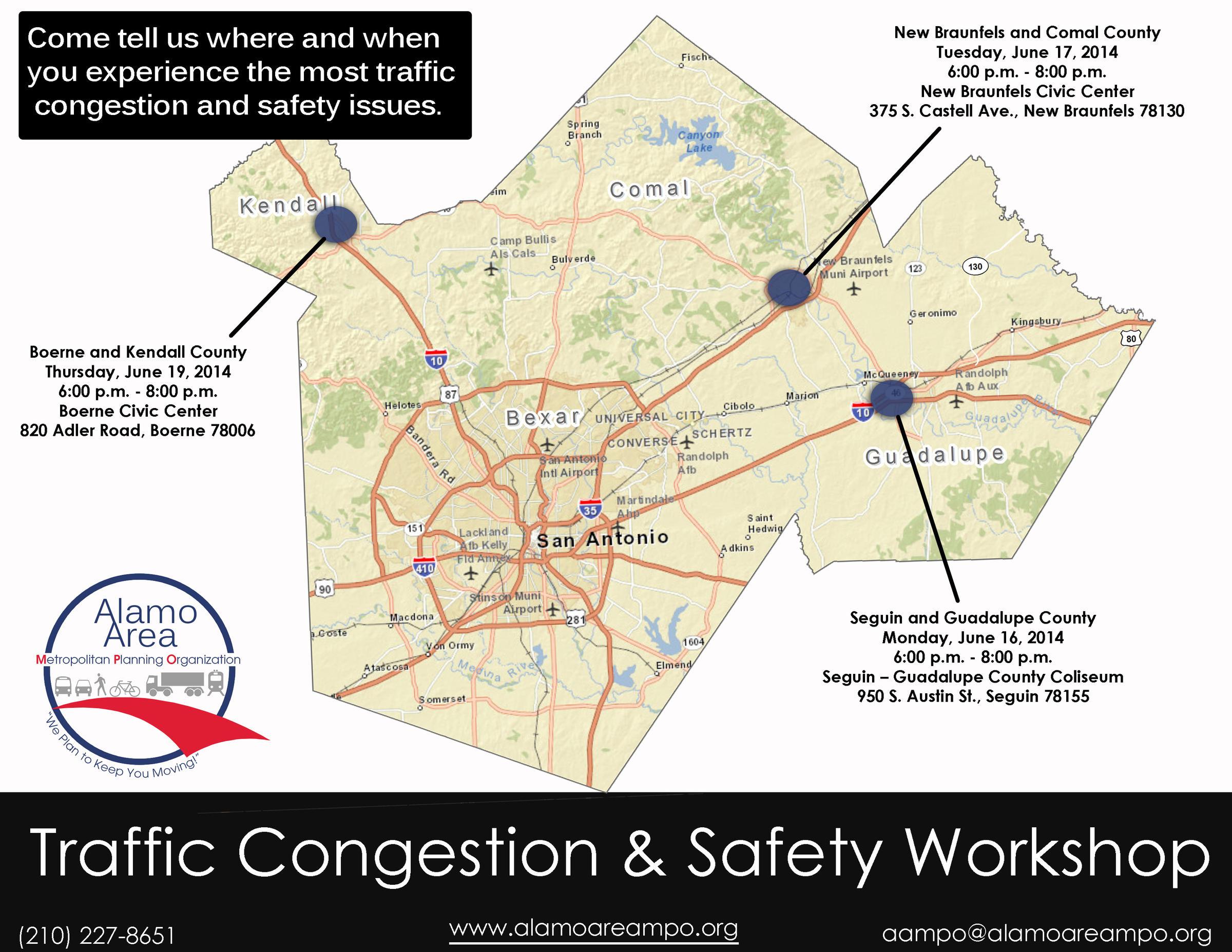 Alamo Area MPO Gathering Traffic Input From Boerne New Braunfels