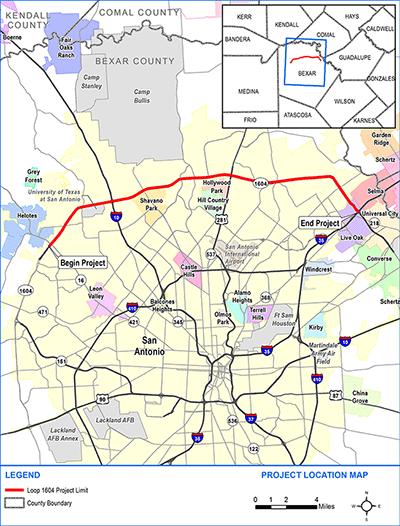Environmental Study On Proposed Loop 1604 Toll Lanes ...