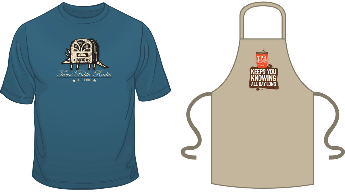 Blue apron npr - Each Year Since 2006 Texas Public Radio Has Featured A T Shirt Newly Designed By A Local Artist As A Thank You Gift We Are Breaking With That Tradition