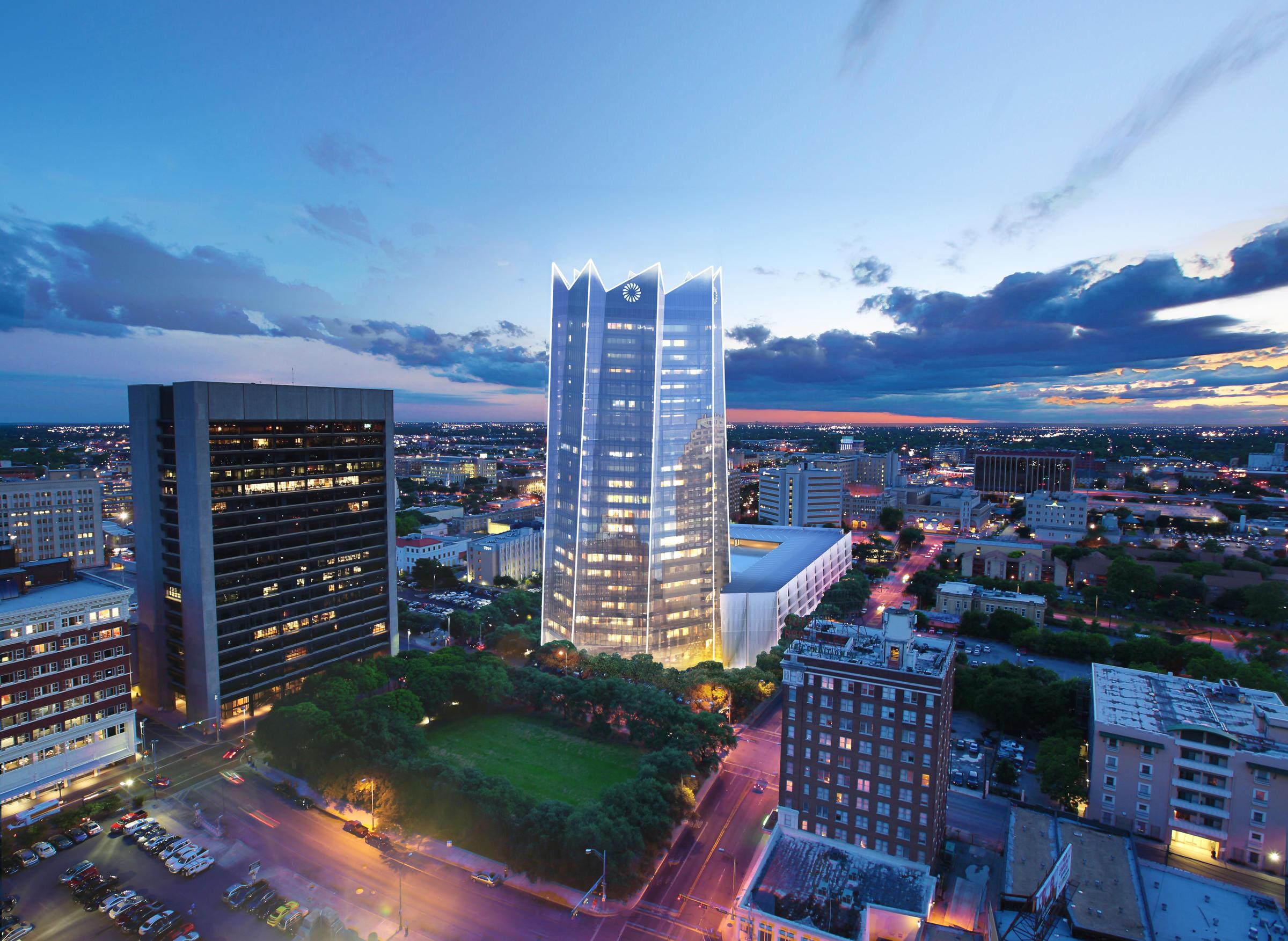 San Antonio - The Skyscraper Center