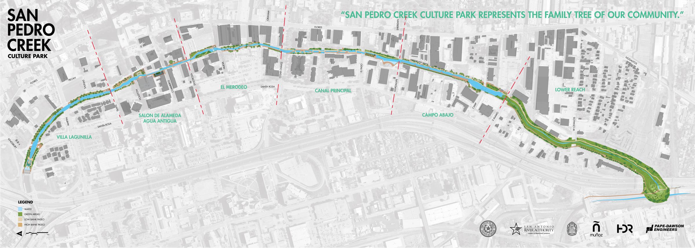 San Antonians Celebrate San Pedro Creek Makeover Launch