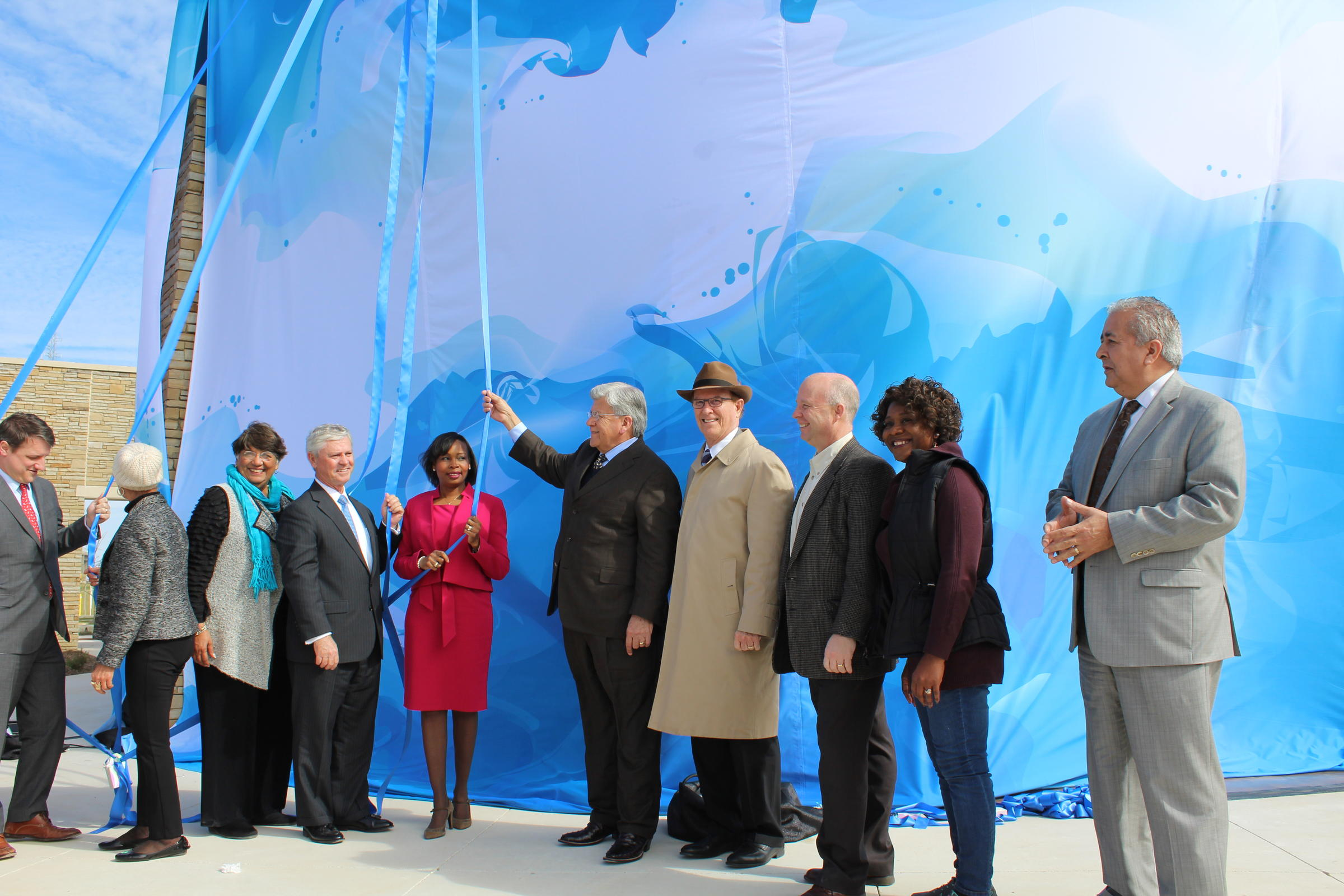 SAWS Opens New Water Desalination Plant