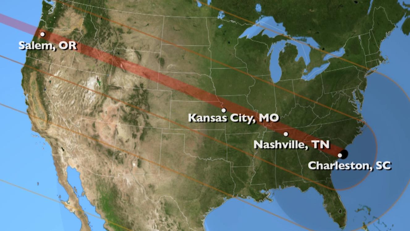 Live Blog Total Solar Eclipse Crosses The US Texas Public Radio