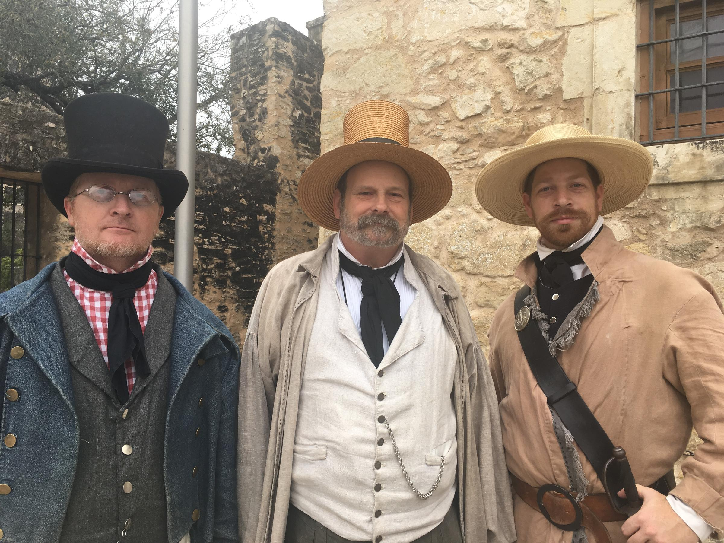 1836 Letter Readings Bring Alamo Battle To Life | Texas ...