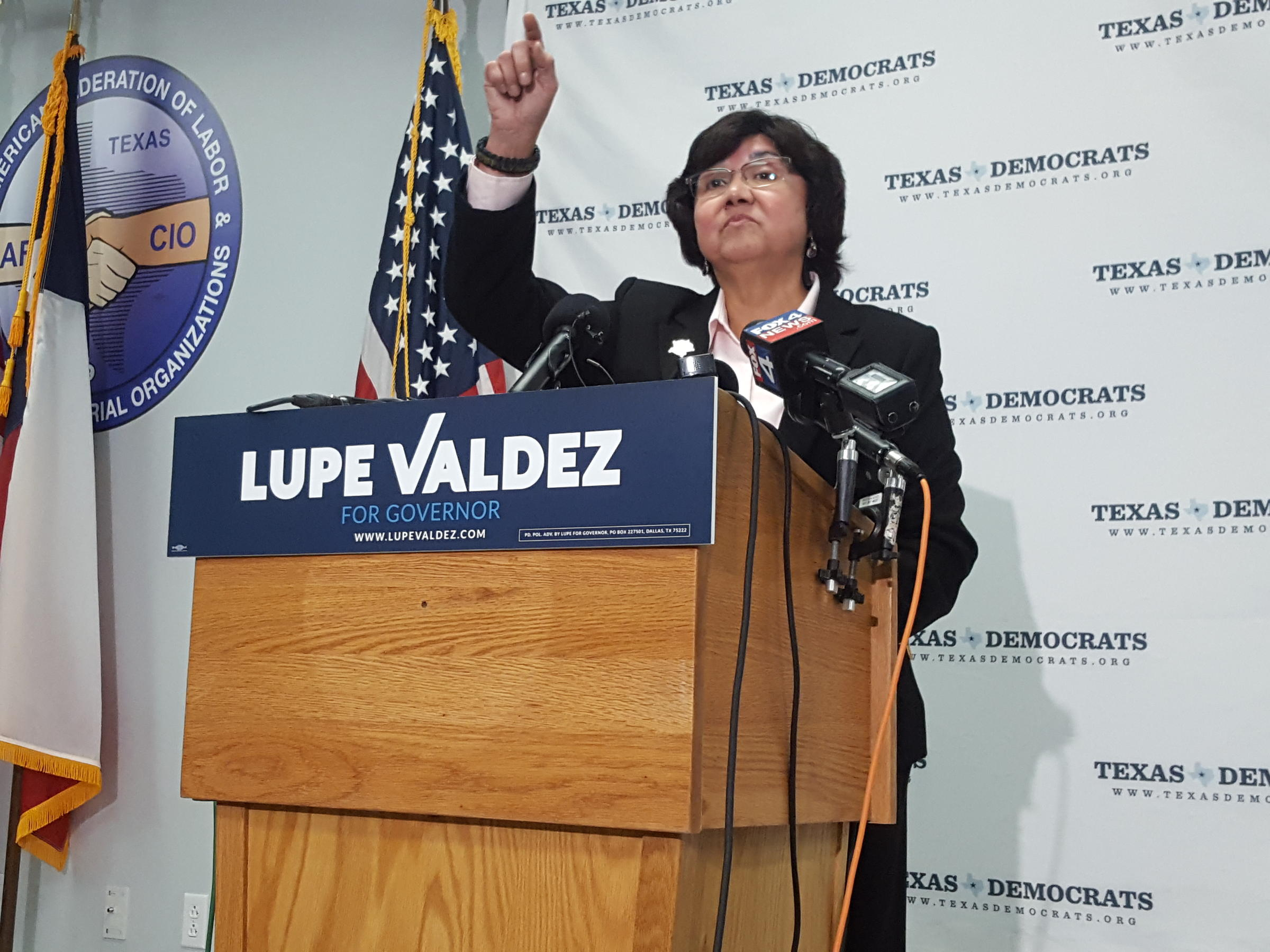 Texas' first Hispanic female sheriff enters governor's race