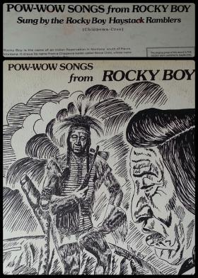 Original cover art by VERNON THE BOY, award-winning artist from the Rocky Boy Reservation located in Northern Montana.