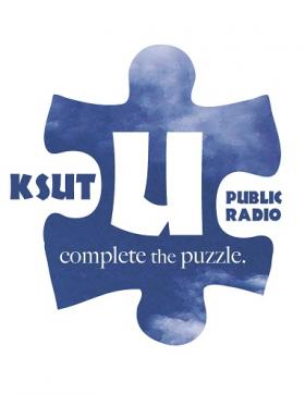 KSUT 2014 Spring Membership Drive art by Shan Wells.