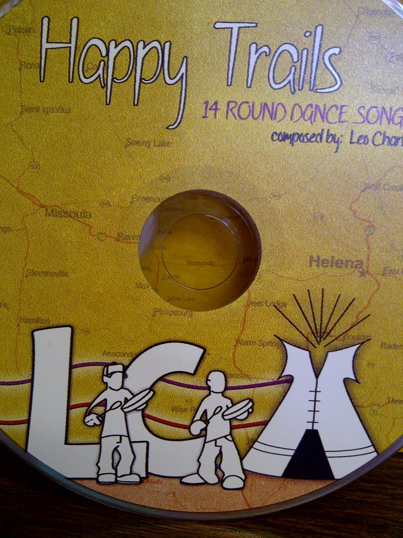 Happy Trails was donated during the Ft. Hall Powwow in August 2012