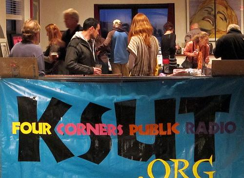 Scenes from KSUT's 19th Annual Member Party and Silent Auction.