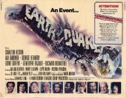 Poster for Earthquake in Sensurround