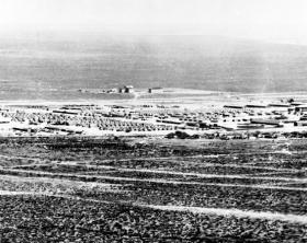 Original site of UTEP on Fort Bliss, ca 1916.