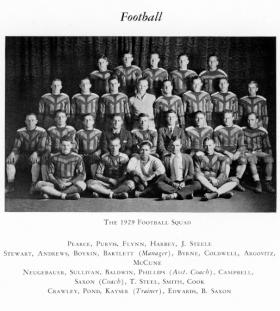 Football Squad, ca. 1929