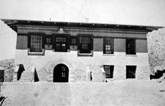 Undated image of Seamon Hall (now the Rubin Center), one of UTEP's most haunted buildings