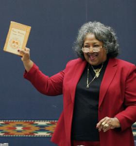 Margaret Jackson Bell, one of Texas Western's first Black Students, 2005.